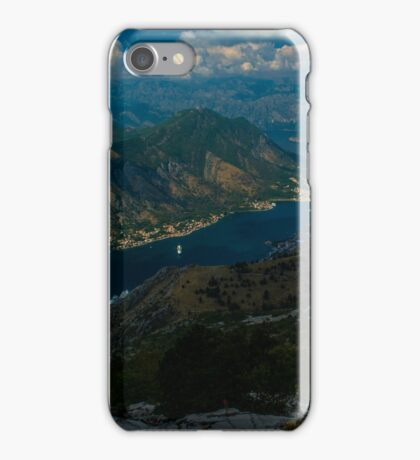Kotor Bay in Montenegro iPhone Case/Skin