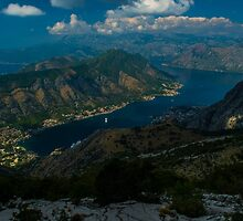 Kotor Bay in Montenegro by JBlaminsky