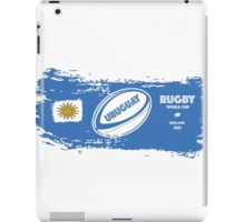 Uruguay Rugby World Cup iPad Case/Skin