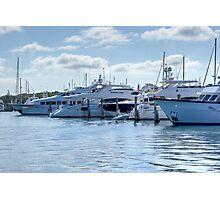 Waterfront Marina Photographic Print
