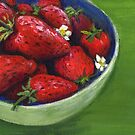 Strawberries by Genevieve  Cseh