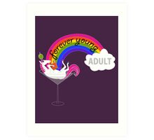Forever Young Adult Official Logo Art Print