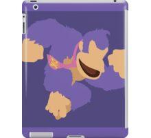 Donkey Kong (Purple) - Super Smash Bros. iPad Case/Skin