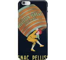 Leonetto Cappiello Affiche Cognac Pellisson iPhone Case/Skin