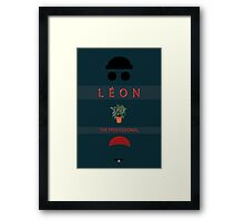 Léon :The Professional Framed Print