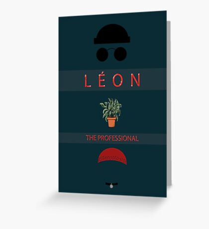 Léon :The Professional Greeting Card