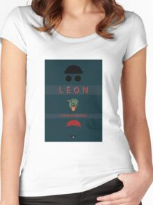 Léon :The Professional Women's Fitted Scoop T-Shirt