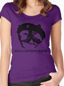 Hasta La Buttercup Siempre Women's Fitted Scoop T-Shirt