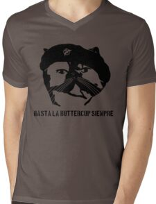 Hasta La Buttercup Siempre Mens V-Neck T-Shirt