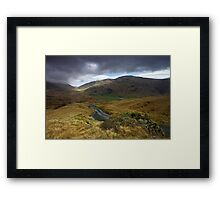 Wrynose to Hardknott Framed Print