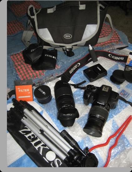 My Camera Equipment by Bellavista2