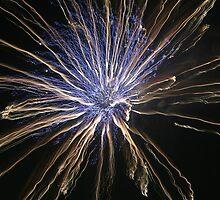 Fireworks over Tokyo - Hanabi in august by Atanas Bozhikov NASKO