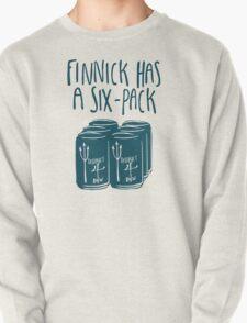 Finnick Has a Six-Pack (Dark Teal) T-Shirt