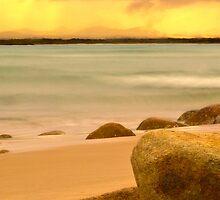 On the Beach by BoB Davis