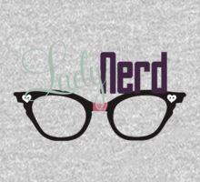 Proud LadyNerd (Black Glasses) One Piece - Long Sleeve