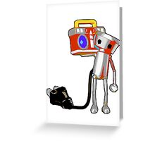 Chibi-Roboto Greeting Card