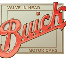 Buick valve in head vintage sign reproduction by htrdesigns