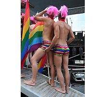 2 Gay males Photographic Print