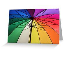 Gay Umbrella Greeting Card