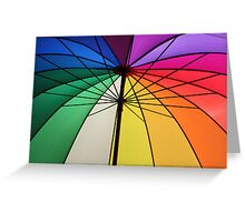 Gay Umbrella Greeting Card