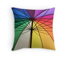 Gay Umbrella Throw Pillow