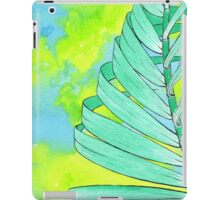 Abstract Palm Leaf - Spearmint iPad Case/Skin