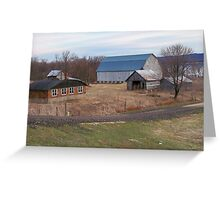 Ole farmstead  Greeting Card