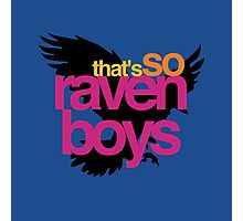 That's So Raven Boys Photographic Print