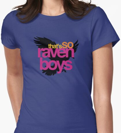 That's So Raven Boys Womens Fitted T-Shirt