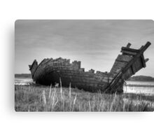 Old Fishing Boat Canvas Print