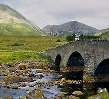 Glamaig and Sligachan Bridge by WatscapePhoto