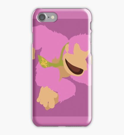 Donkey Kong (Pink) - Super Smash Bros. iPhone Case/Skin