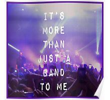 5SOS Concert Pillow Poster