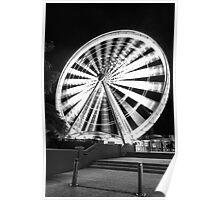 Ferris Wheel, Southbank Brisbane Poster