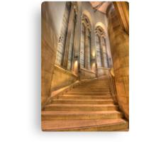 Grand Staircase - Suzzallo Library Canvas Print
