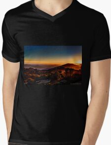 Sunset Near Cambria, California Mens V-Neck T-Shirt