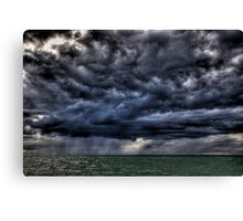 Storm Over The Bay Canvas Print