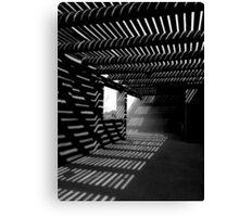Light & Shadows ~ Black & White Canvas Print