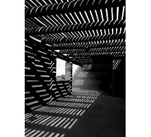 Light & Shadows ~ Black & White Photographic Print