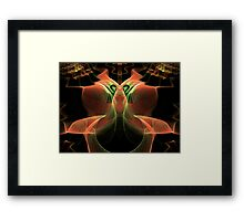 Up in Smoke Escher  (UF0217) Framed Print