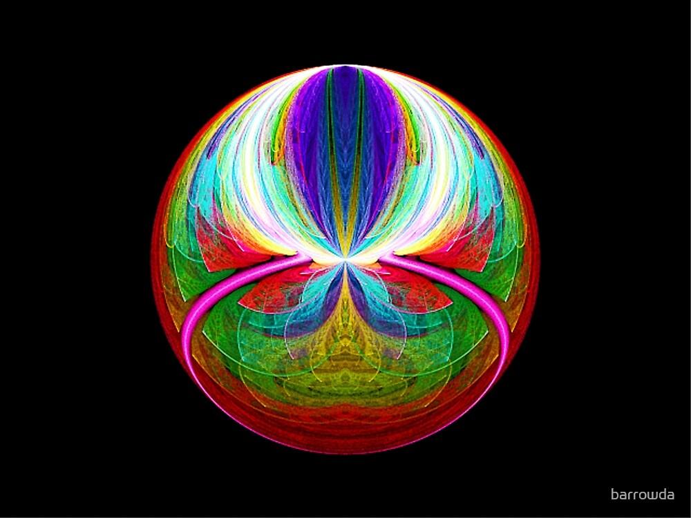 Elliptic Splits FSK Escher Sphere  (UF0221) by barrowda