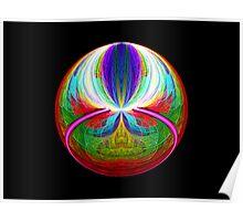 Elliptic Splits FSK Escher Sphere  (UF0221) Poster
