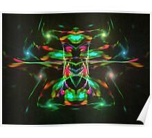 Escher Christmas Lights  (UF0224) Poster