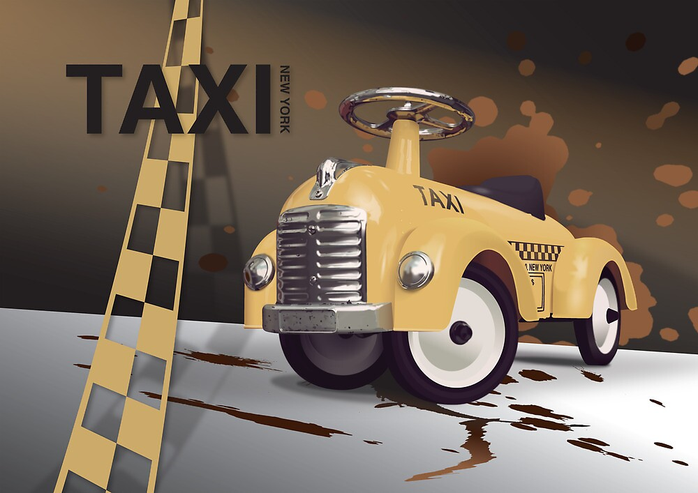 Vector Taxi by JNRYJD