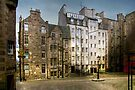 Makars' Court, Edinburgh by Christine Smith