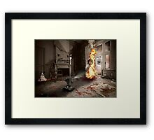 Dante's Dollhouse Framed Print