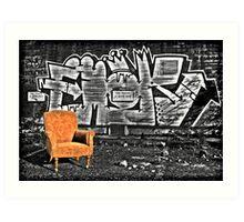 Take A Seat Art Print
