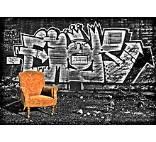 Take A Seat Photographic Print