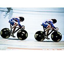 GB Team Sprint Photographic Print
