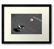 Paris - Ball game Framed Print